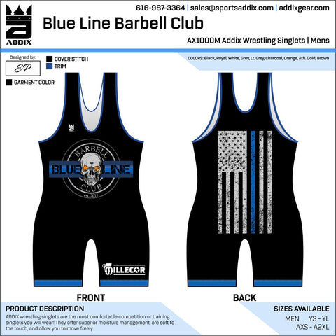 2018 Team singlet **For team members only **