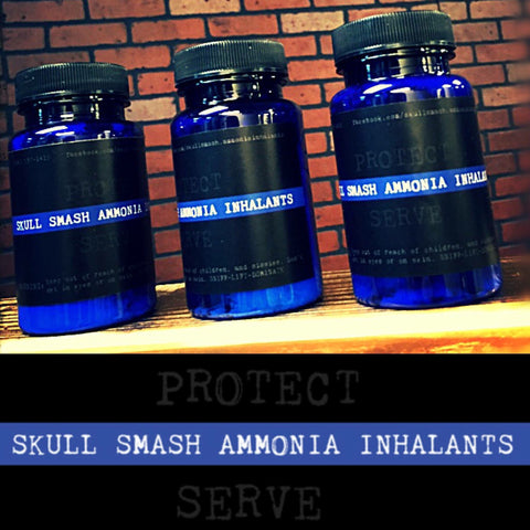 Skull Smash Ammonia Thin Blue Line lable