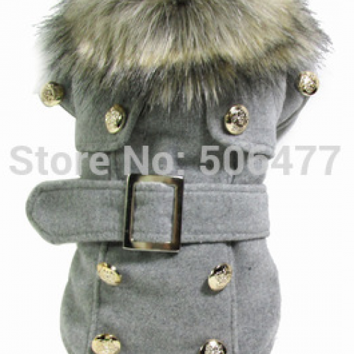 HIGH QUALITY classic pet dog clothes anti-freezing winter warm dog clothes overcoat