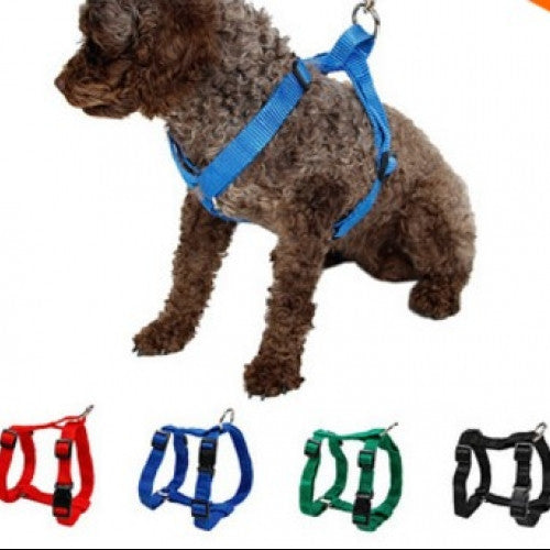 Restraint Cat Puppy Dog Harness Soft Walk Vest Large Dog - Pet Harness Nylon Adjustable Safety Control