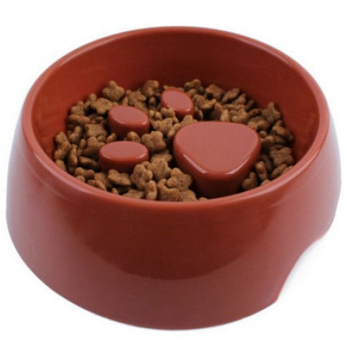 Slow Down Eating Feeder Prevent Pet Dog Cat Eat Too Fat - On a Diet Design Anti Choke Pet Dog Cat Feeding Feed Food Bowl Puppy