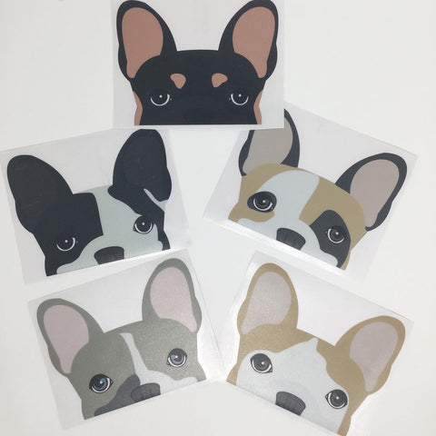 Sticker voiture Frenchie