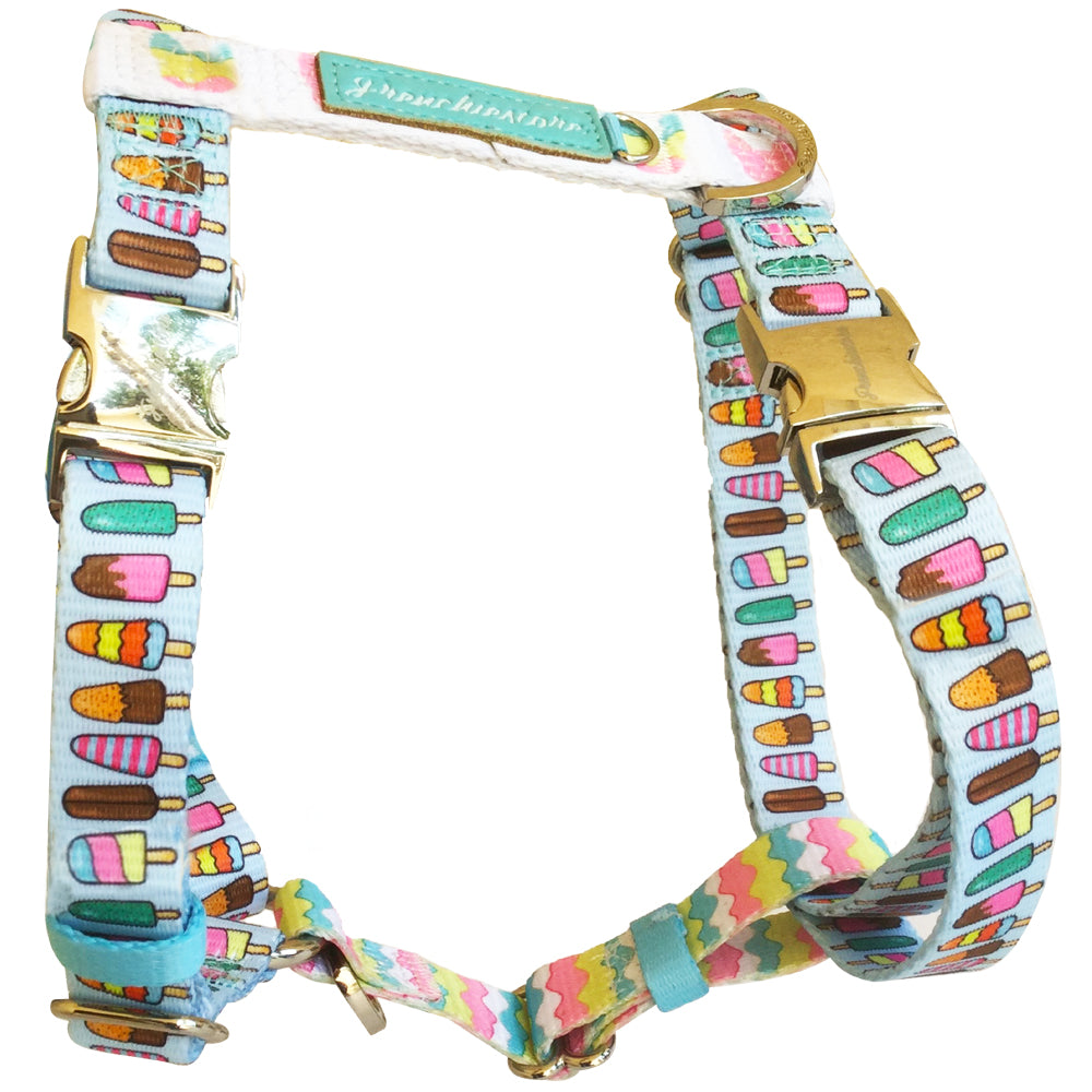Frenchiestore Adjustable Pet Health Harness | Ice Cream