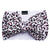 Frenchiestore Pet Head Bow | Leopardo rosa