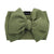 Frenchiestore Pet Head Bow | ejercito verde