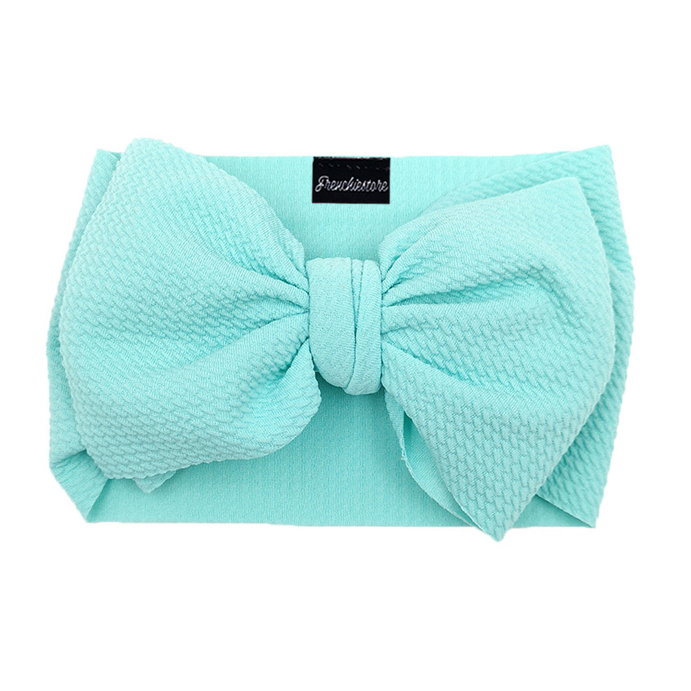 Frenchiestore Pet Head Bow | Aqua