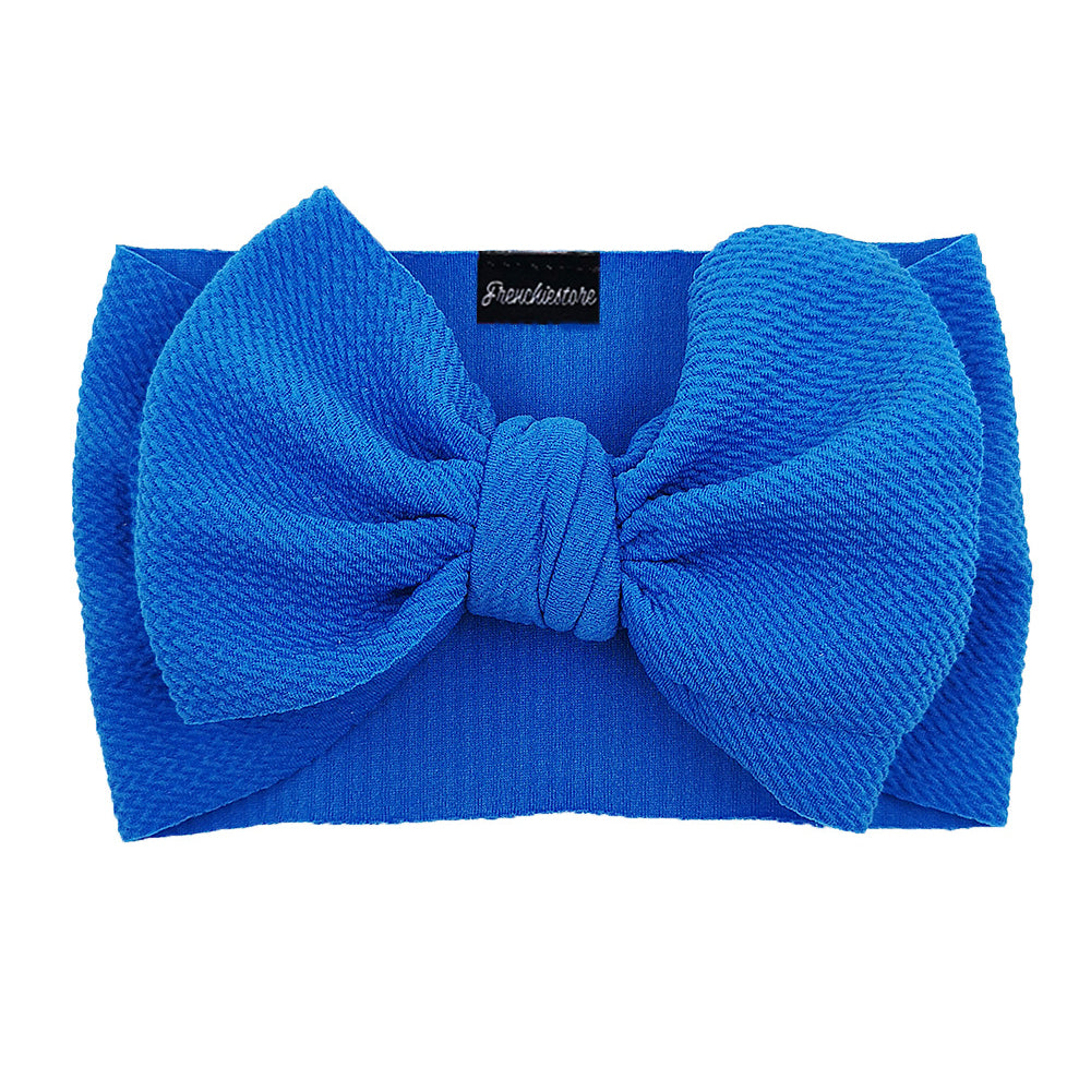 Frenchiestore Pet Head Bow | Azul