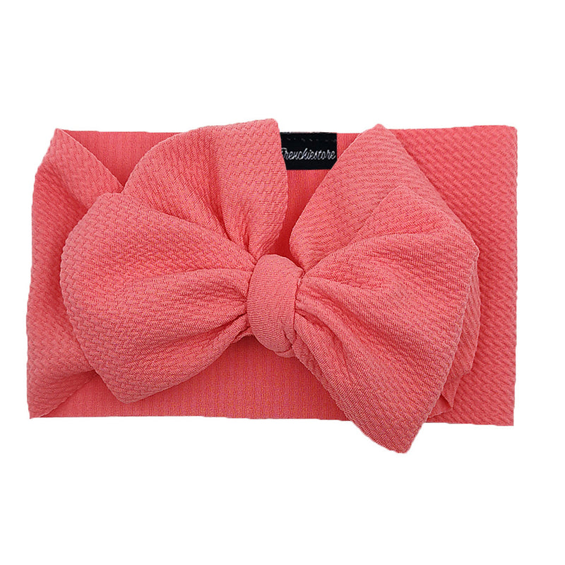 Frenchiestore Pet Head Bow | Coral
