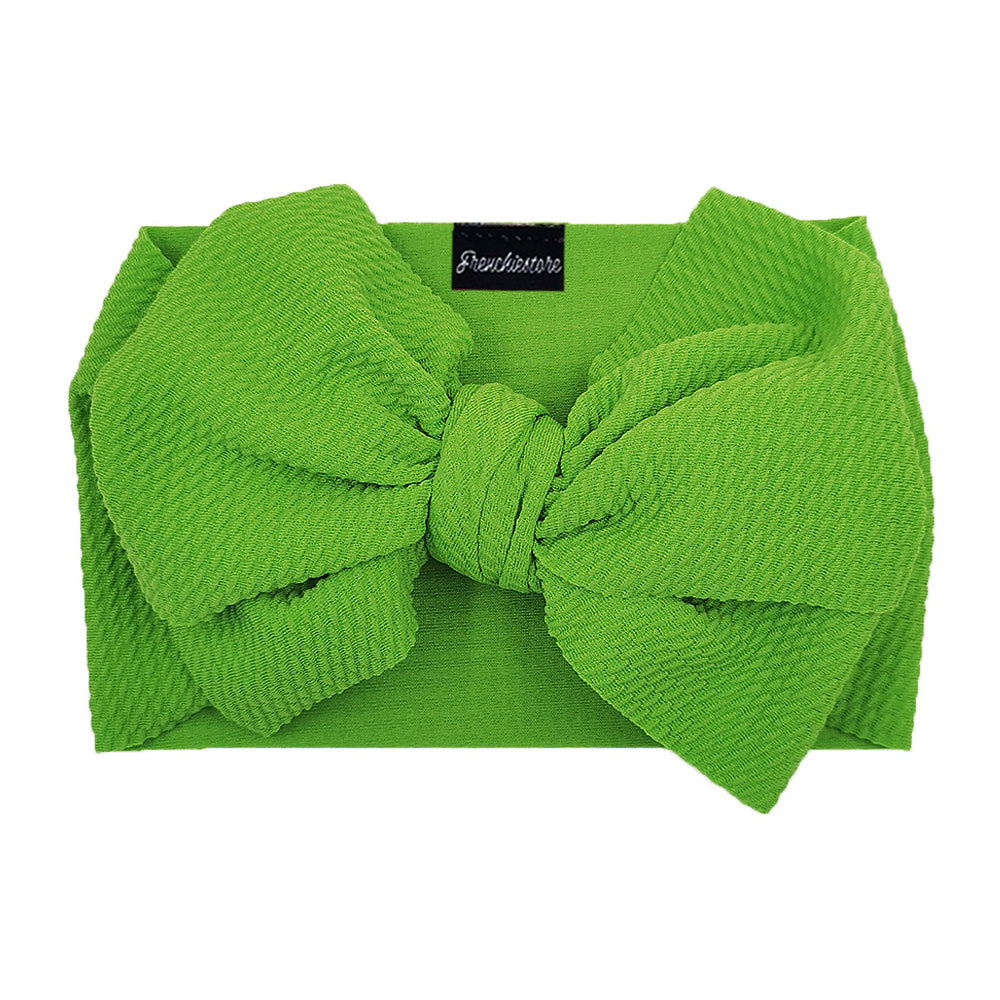 Frenchiestore Pet Head Bow | Verde