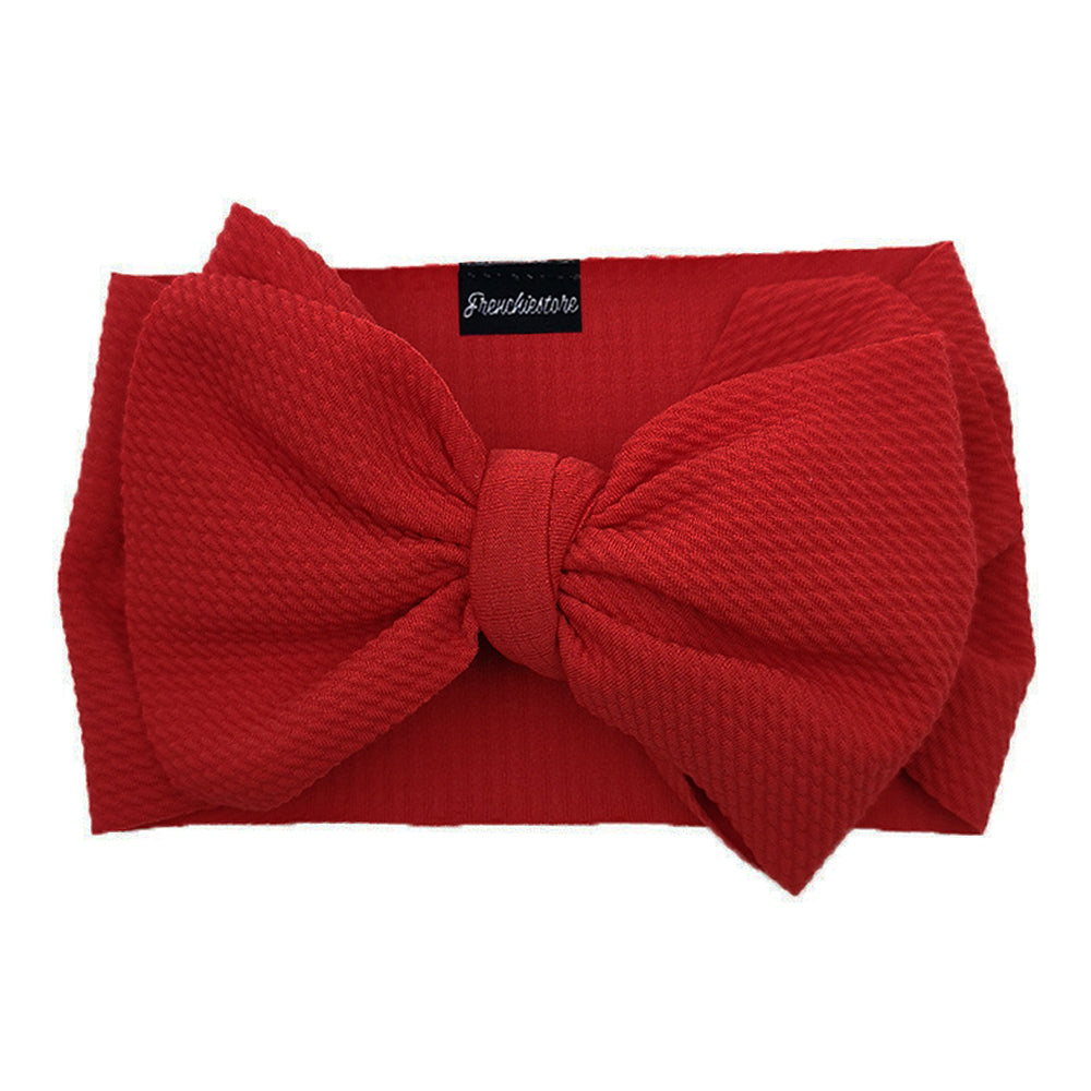 Frenchiestore Pet Head Bow | Maroon