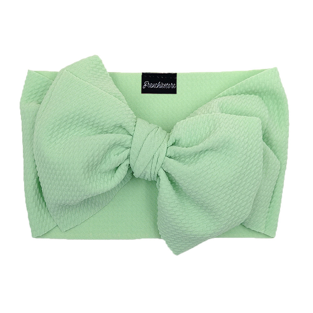 Frenchiestore Pet Head Bow | menta