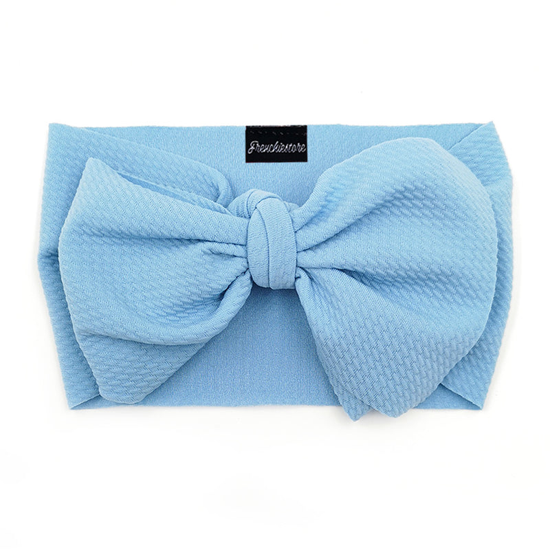Frenchiestore Pet Head Bow | Cielo azul