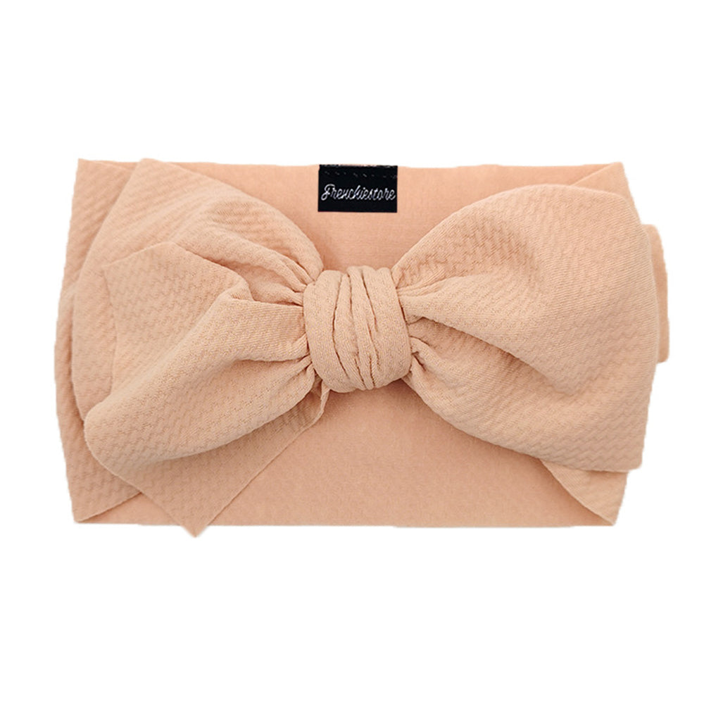 Frenchiestore Pet Head Bow | Tan