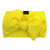 Frenchiestore Pet Head Bow | Giallo