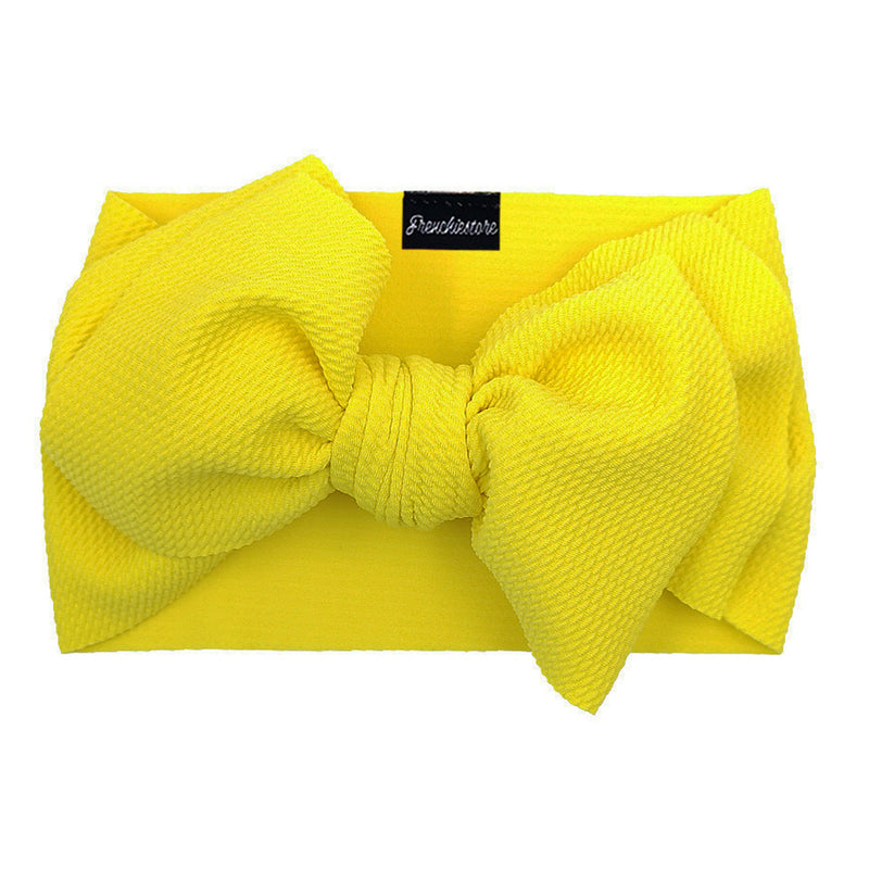 Frenchiestore Pet Head Bow | Amarillo