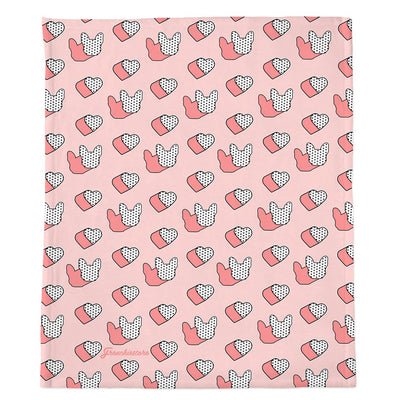 Frenchie Blanket | Frenchiestore | I Heart Frenchie