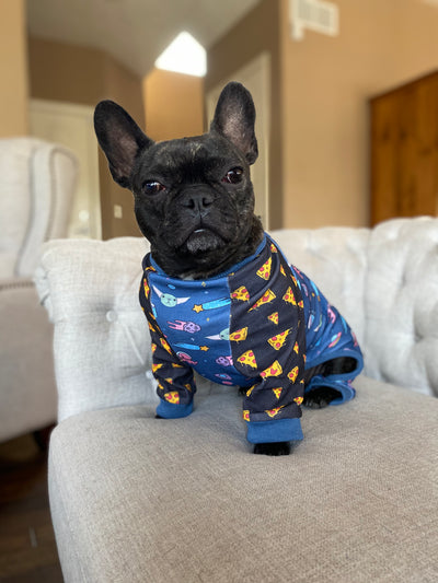 Frenchie dog pajamas star wars baby yoda