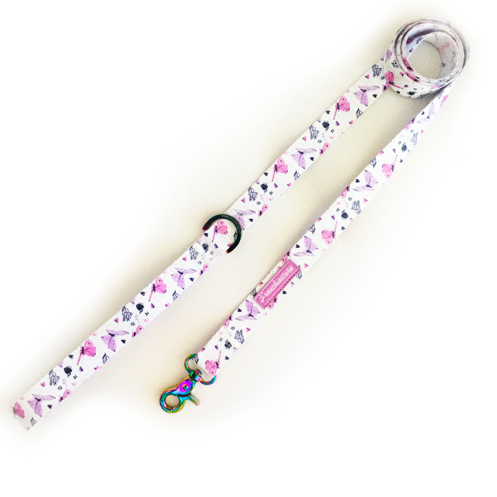 Frenchiestore Dog Luxury Leash | Magical Butterfly