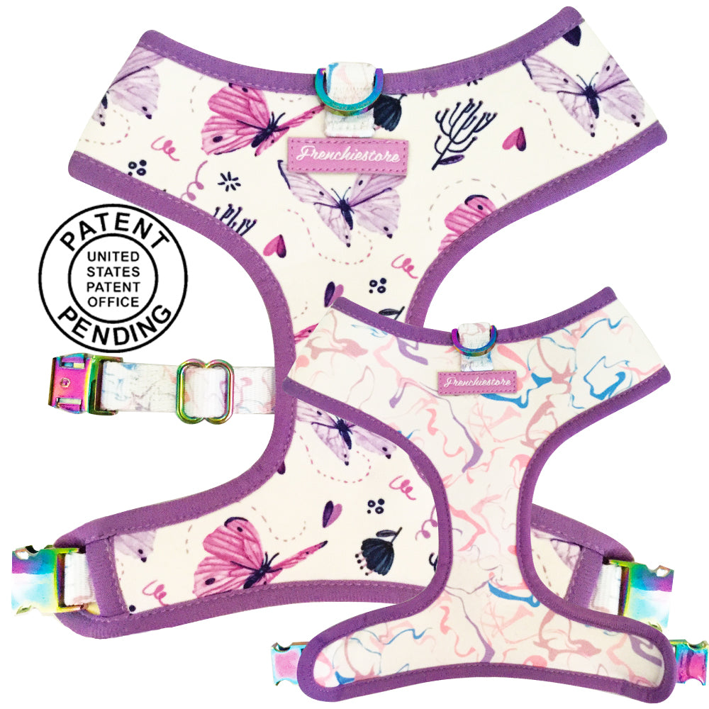 French Bulldog Harness | Versatile Health Harness | Magical Butterfly