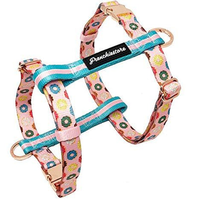 Frenchiestore Adjustable Health Harness | Pink StarPup