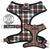 Frenchiestore best harness for frenchies tartan design