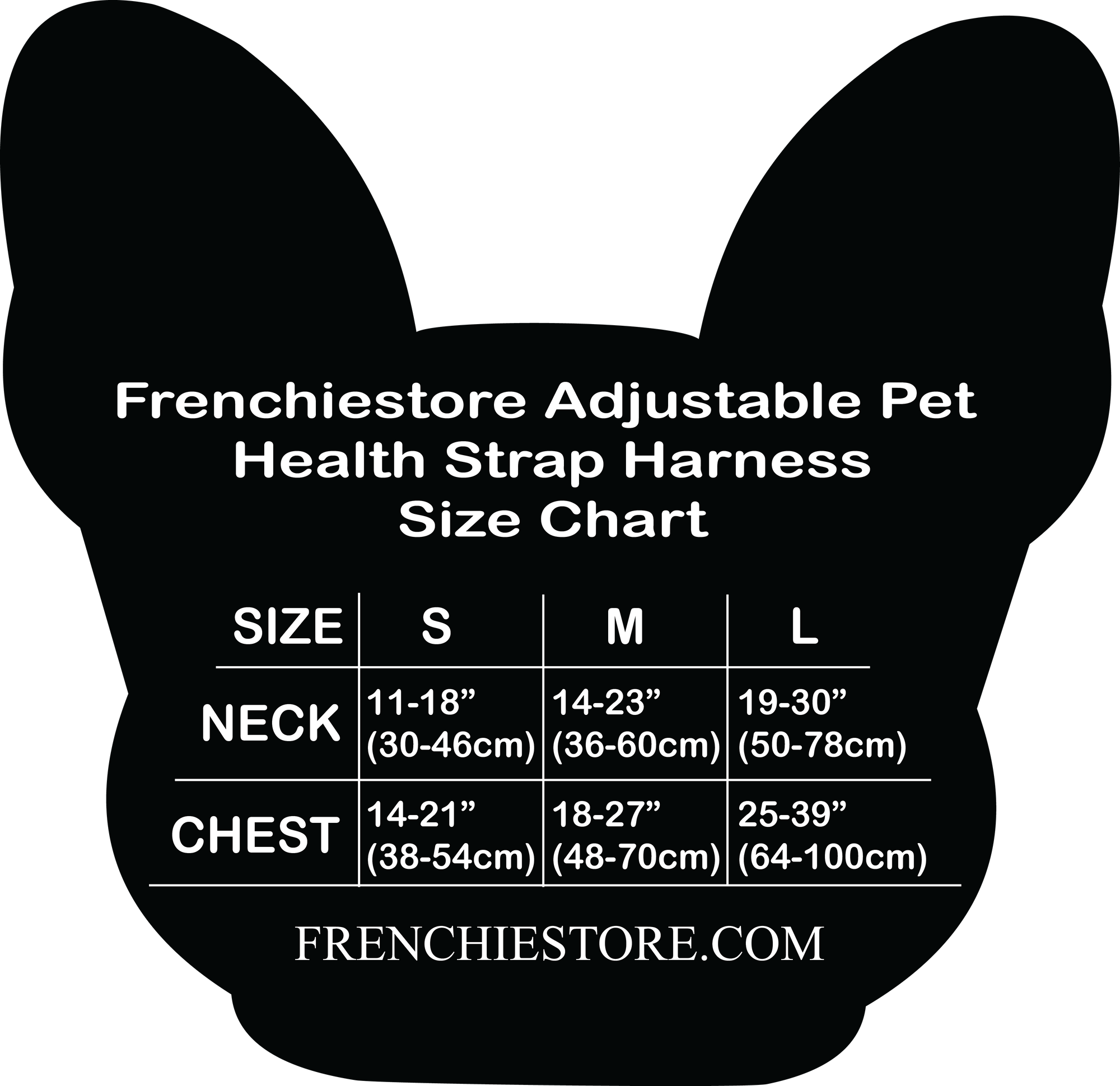 Frenchiestore Adjustable Pet Health Strap Harness | the Child, Frenchie Dog, French Bulldog pet products