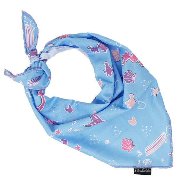 Frenchiestore Dog Cooling Bandana |  Mermazing
