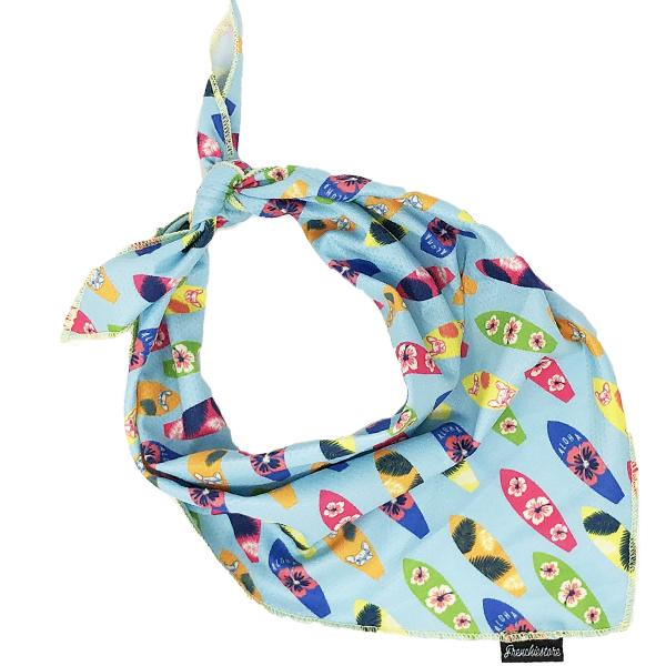 Frenchiestore Dog Cooling Bandana | Surf Up