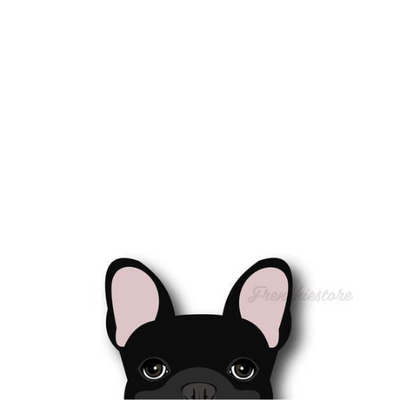 Frenchie Sticker | Frenchiestore |  Black French Bulldog Car Decal