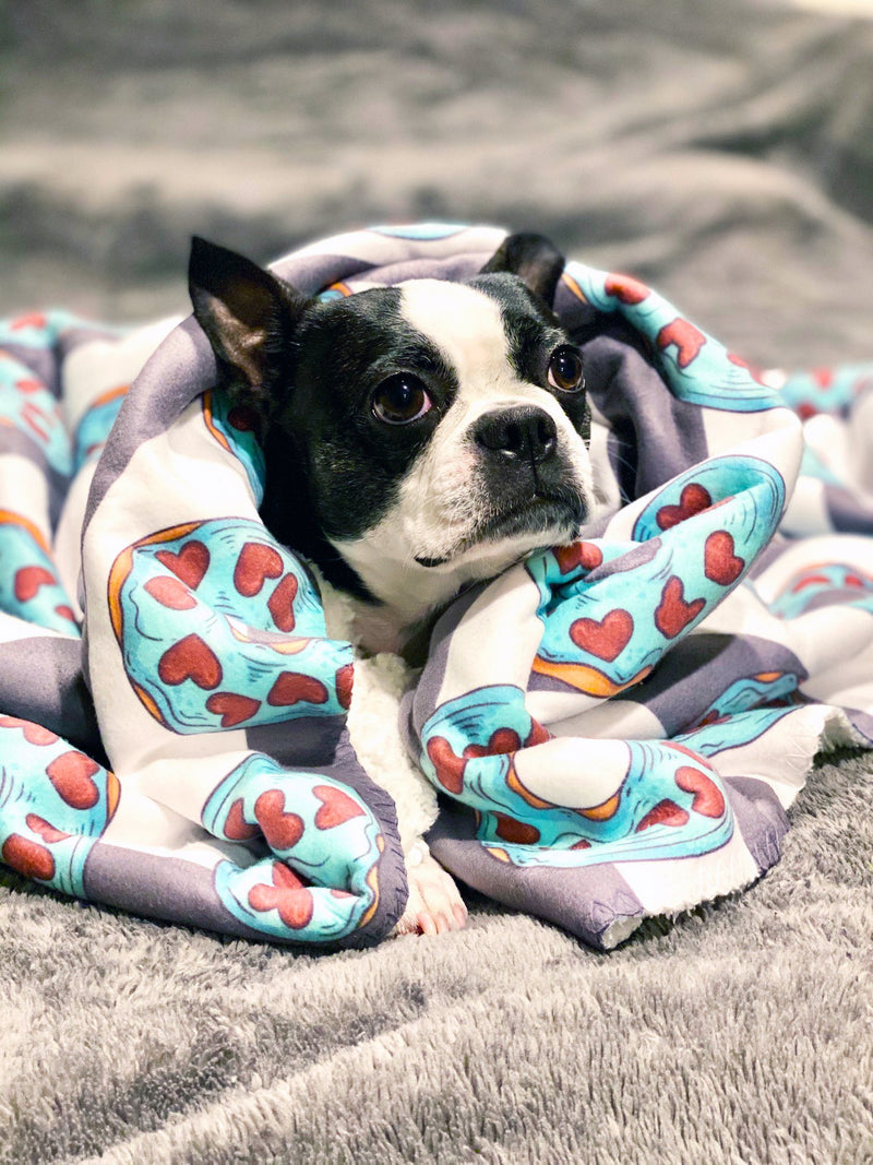 Coperta Frenchie | Frenchiestore | Ciambelle alla francese