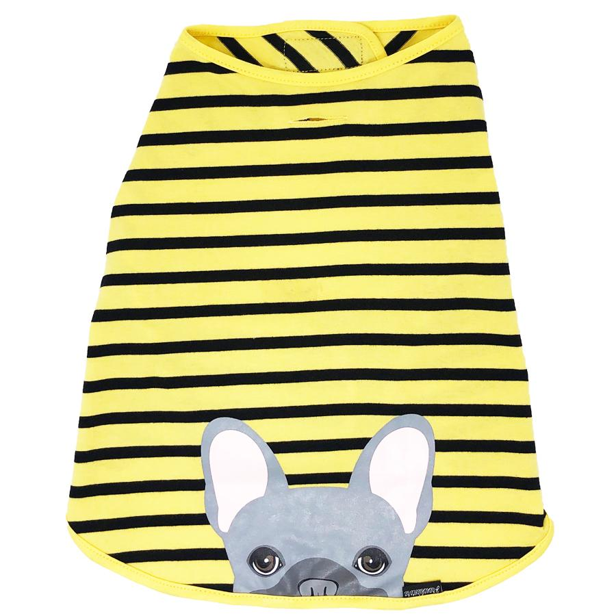 Frenchie Shirt | Frenchiestore | Bouledogue Français Bleu dans Bumblebee