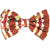 Frenchiestore dog Bowtie football game pet bow