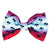 frenchiestore dog pet bow tie for collar or harness sunset palms