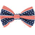 Frenchiestore dog Bowtie all american pet bow