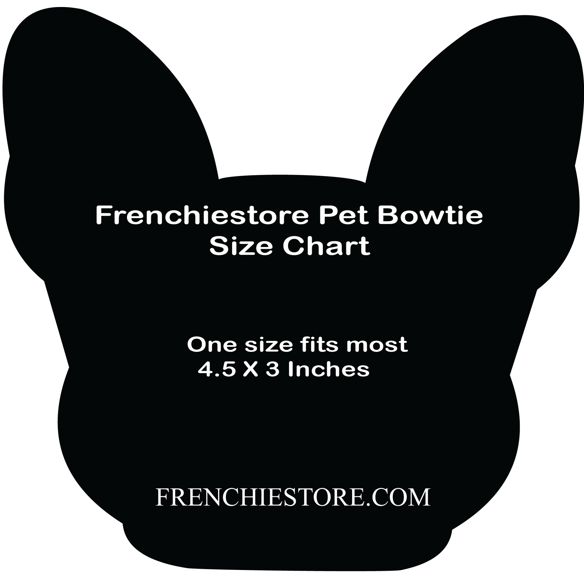 Frenchiestore dog Bowtie | UniPup