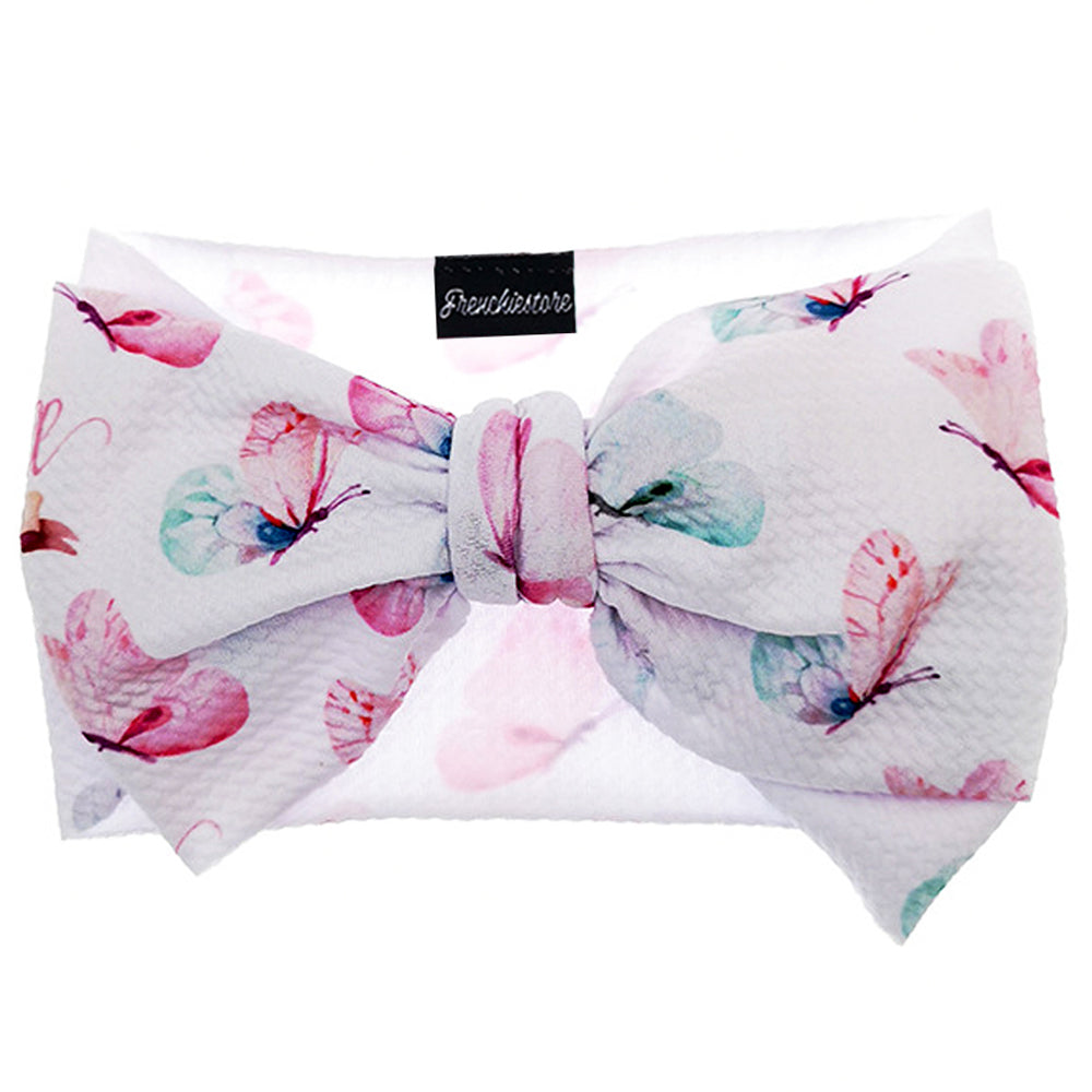 Frenchiestore Pet Head Bow | Butterfly Love