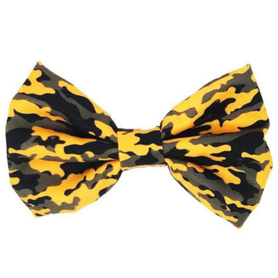 Frenchiestore dog Bowtie | Moutarde Ultime Camo