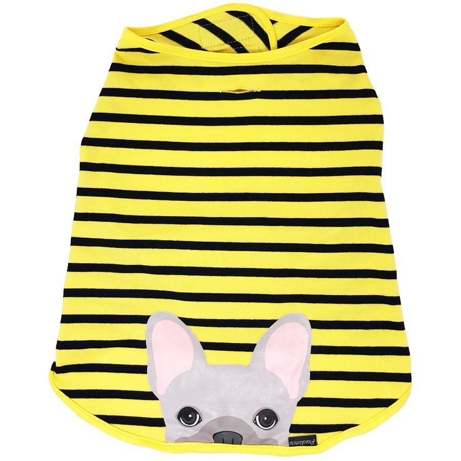 Frenchie Shirt | Frenchiestore | Cream French Bulldog in Bumblebee, Frenchie Dog, French Bulldog pet products