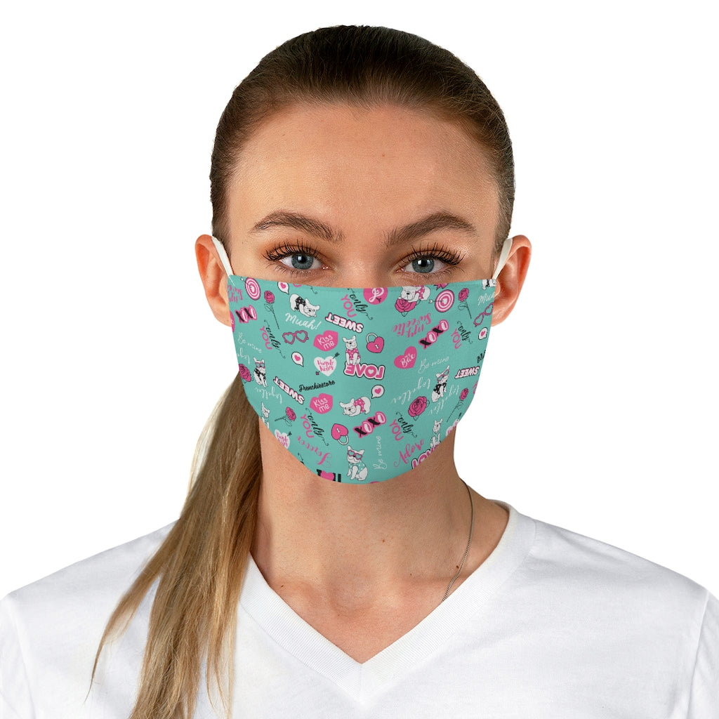 French Bulldog Love Reusable Face Mask