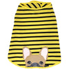 Frenchie Shirt | Frenchiestore | Fawn French Bulldog in Bumblebee