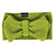 Green apple head bow babies dogs baby dog puppy cute head wrap