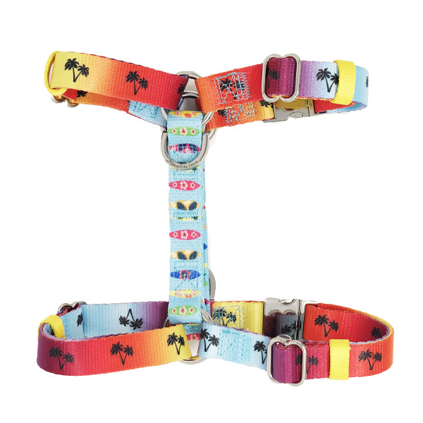 frenchiestore california dreaming strap harness