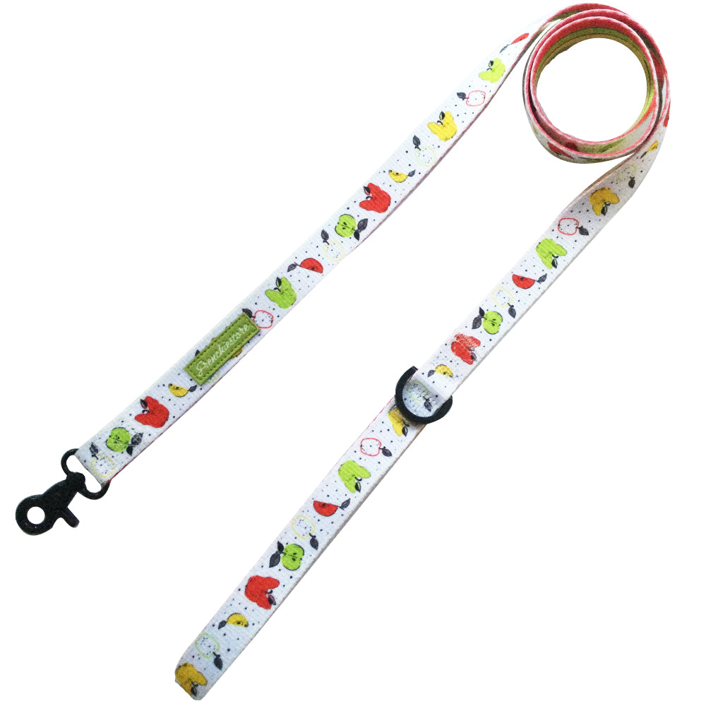 Frenchiestore Dog Luxury Leash | Apple