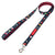 Frenchiestore Luxury Leash | Plaid de bison rouge