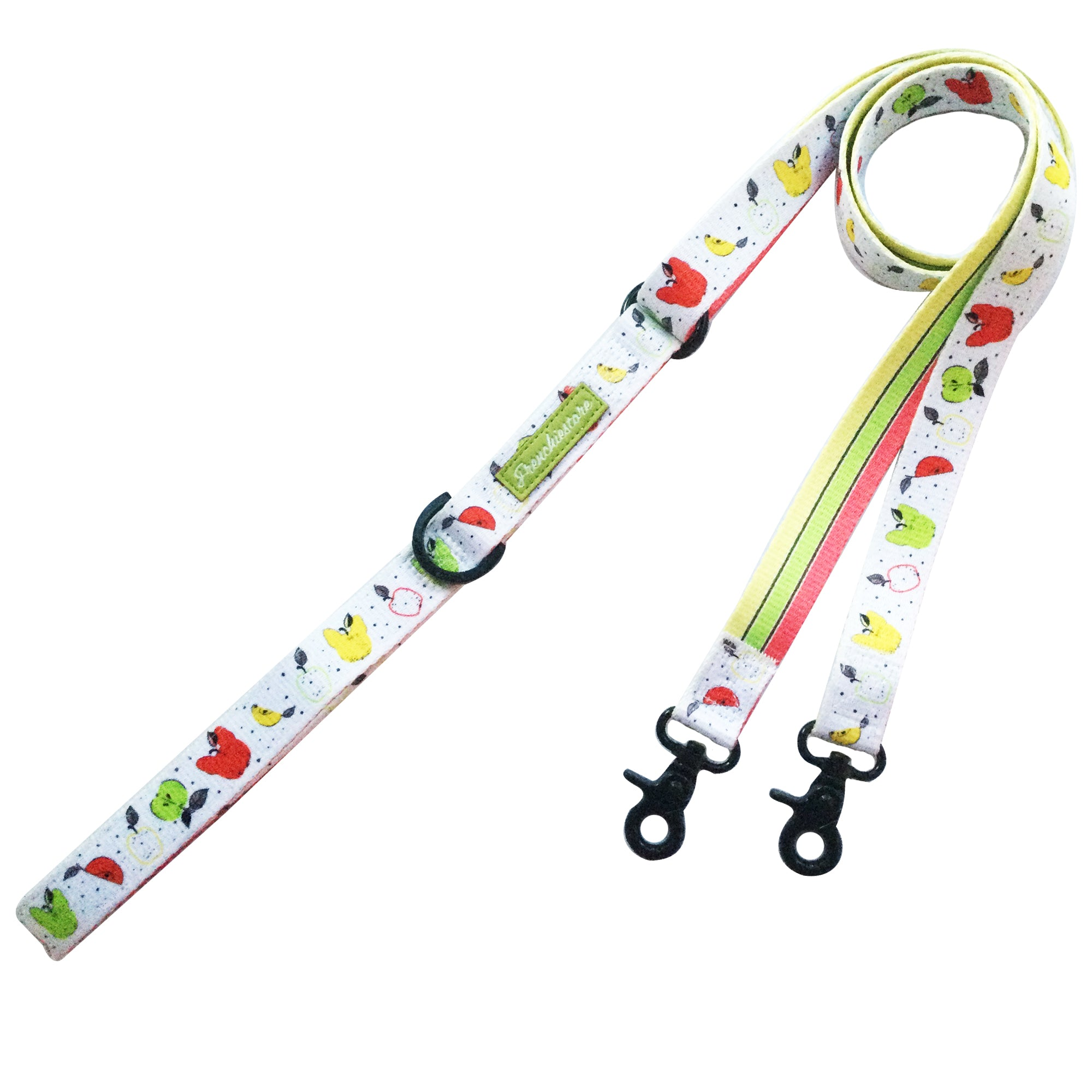 Frenchiestore Dual Dog Leash | Apple