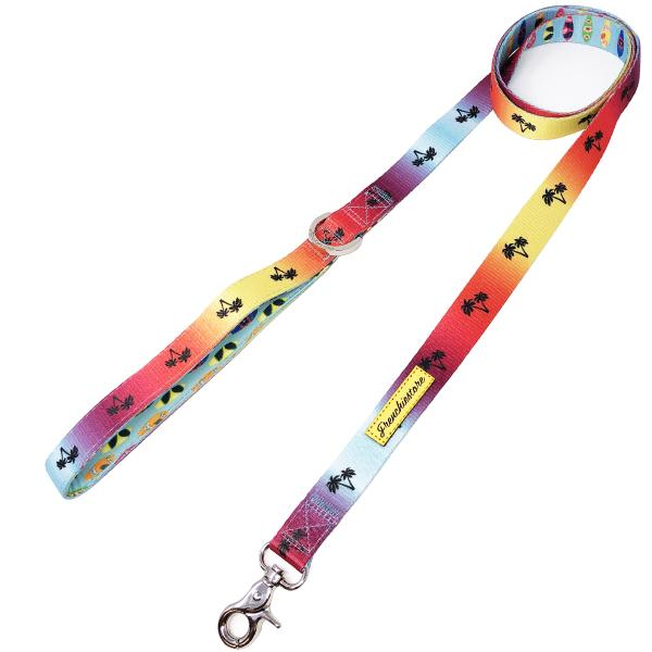Frenchiestore Luxury Leash | California Dreamin', Frenchie Dog, French Bulldog pet products
