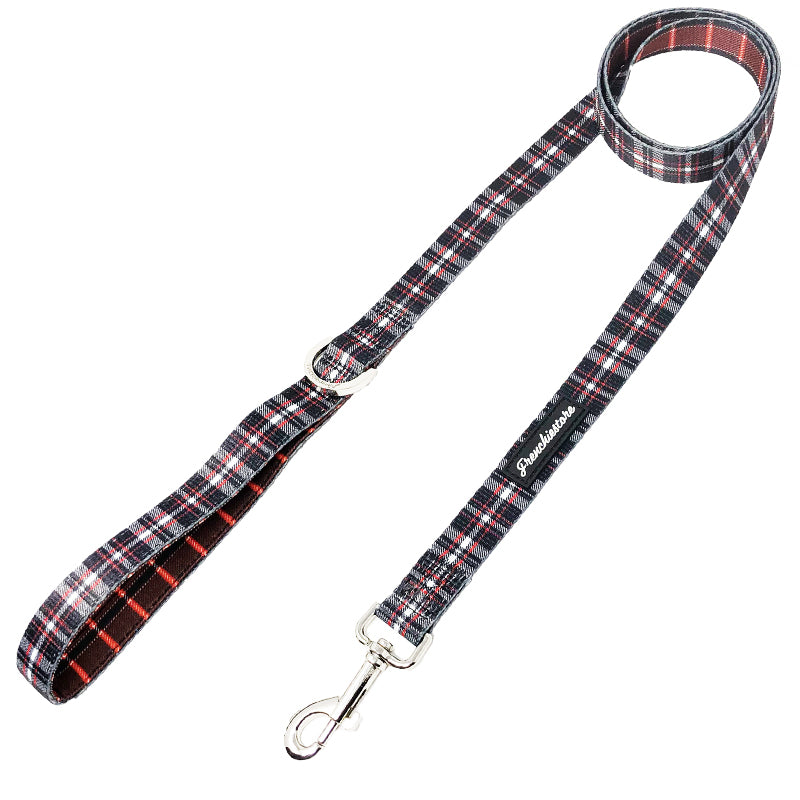 Frenchiestore Luxury Dog Leash | Tartan