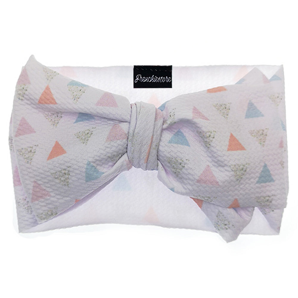 Frenchiestore Pet Head Bow | Love Triangle