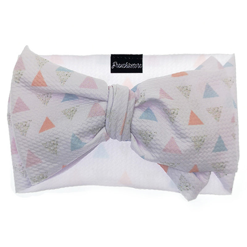 Frenchiestore Pet Head Bow | Dreiecksbeziehung