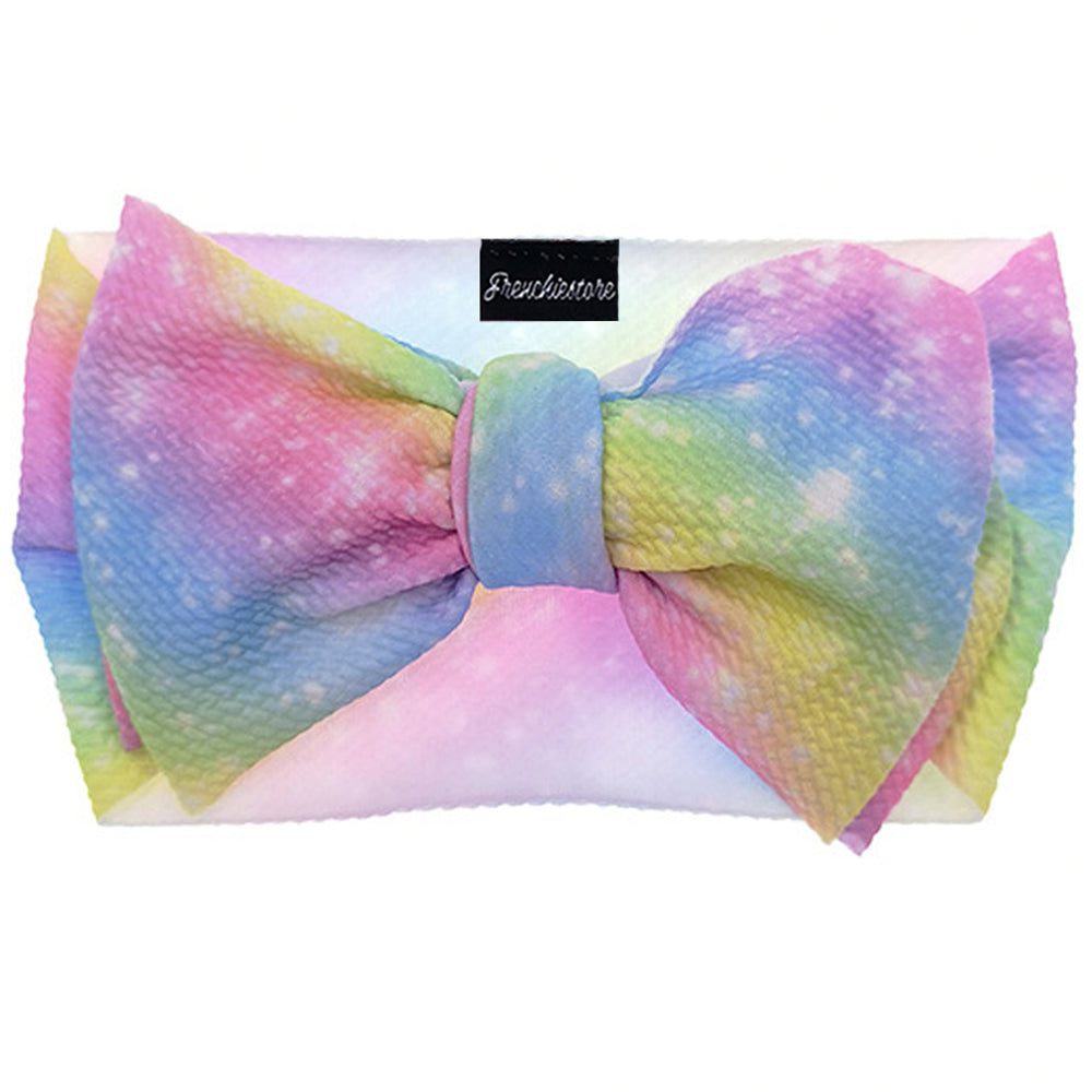 Frenchiestore Pet Head Bow | Magical Galaxy